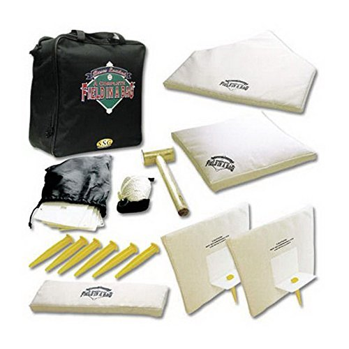 New Baseball Softball Throw Down Bases Field in a Bag Equipment Set Portable by DirectWholesaler16
