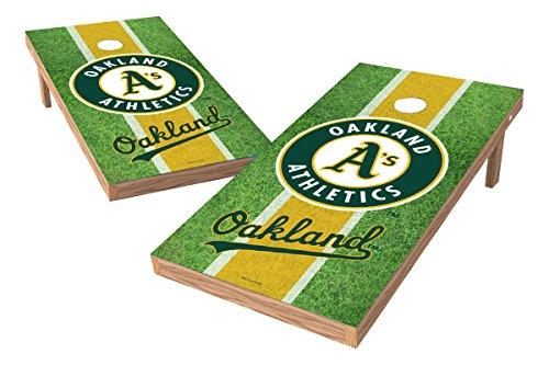 (Wild Sports MLB Oakland Athletics Field XL Shield Tailgate Toss Game, 24