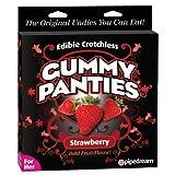 Edible Crotchless Gummy Panty - Strawberry