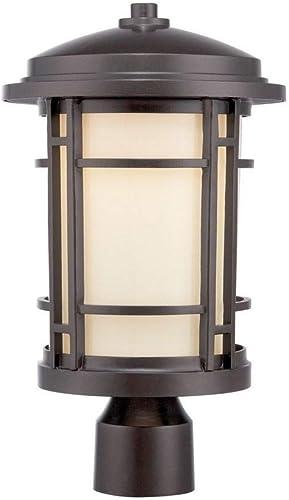 Designers Fountain LED22436-BNB Barrister 9 LED Post Lantern