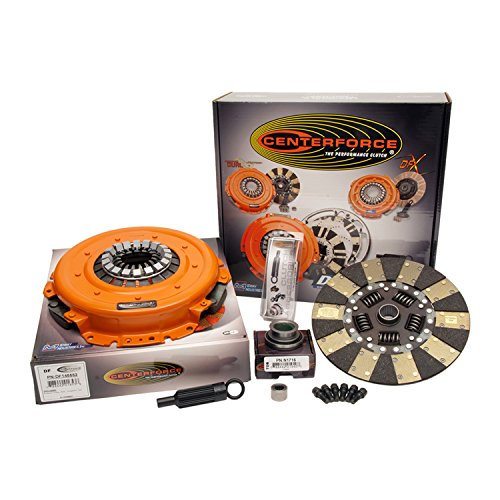 Friction Kit Dual Clutch (Centerforce KDF485216 Dual Friction Full Clutch Kit)