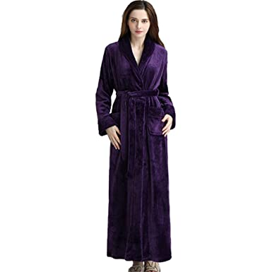 aac804bd09 Image Unavailable. Image not available for. Color  Stylish Mens Women s  Bathrobe
