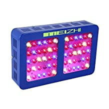 MEIZHI Reflector-Series 300W 450W 600W 900W 1200W LED Grow Light Full Spectrum for Indoor Plants Veg and Flower - Dual Growth Bloom Switches Daisy Chain (300 watt)
