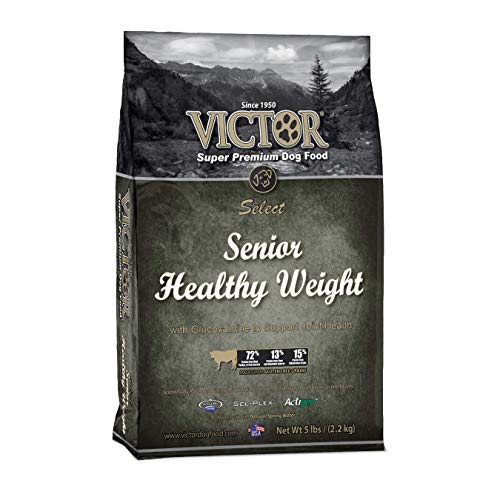 Victor Senior Healthy Weight Dry Dog Food, 5 Lb. Bag For Sale