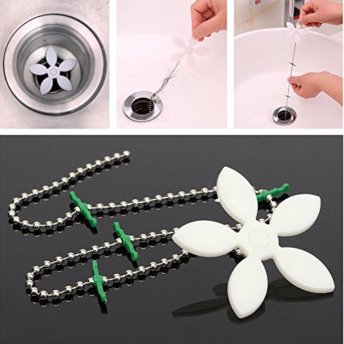 Drain Hair Shower Catcher Clean Never Clogged Bathtub Plumbing Stainless Steel Cover Bathroom Filter Sewer Stopper