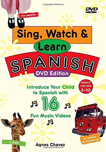 Sing  Watch    Learn Spanish  Dvd   Guide   16 Fun Music Videos To Introduce Your Child To Spanish
