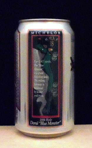 Michelob Light Doral Golf Club 18th Hole Golf Beer Can - Bottom-Opened (Anheuser Busch Michelob)
