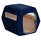 Pet Under Cover Kennel Cover for Petmate, Blue Black, Medium