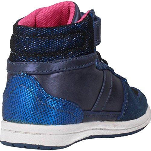 Lulú FF.LZ02 - Zapatillas botin infantiles niña con luces Marino