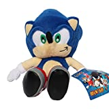 HEDGEHOG Super Sonic Stuffed Plush Soft Doll Toy 9""