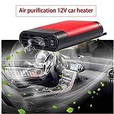 Acidea Portable Car Heater, Auto Heater Fan, Car Defogger, Fast Heating Defrosts Defogger