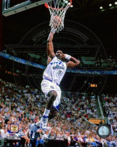 - Karl Malone Utah Jazz NBA Action Photo 8x10 #6