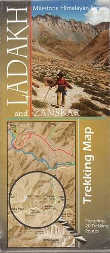 Ladakh & Zanskar - Trekking Map (2018) (Ladakh Trekking)