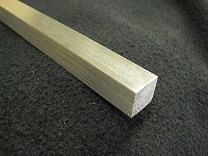2-1//2 X 2-1//2 Aluminum 6061 Square BAR 13 Long Solid T6511 Mill Stock 2.5