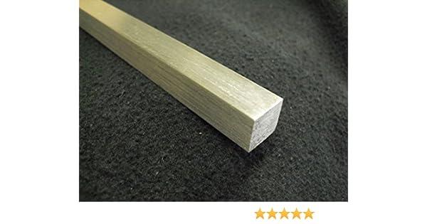 "1/"" X 1/"" X 36/"" Long Square Aluminum Bar 6061-T6"