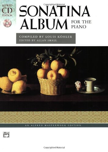 Sonatina Album: Comb Bound Book & 2 CDs (Alfred Masterwork CD Edition) (Album Sonatina)