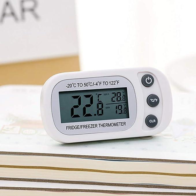 Cofemy Termómetro digital LCD Diseño de gancho Dermproof ...