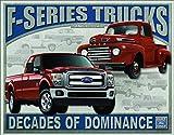 "Desperate Enterprises Ford F-Series Trucks Tin Sign, 16"" W x 12.5"" H"