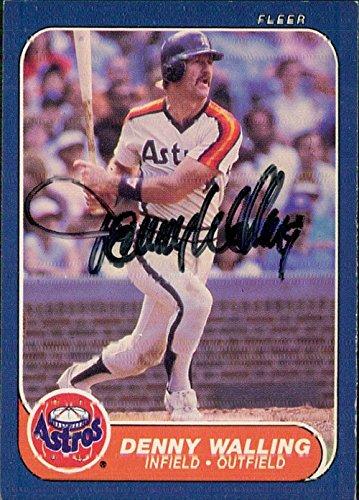 1986 Fleer Autographed Card - 6