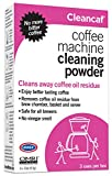 Urnex Coffee Maker and Espresso Machine Cleaner Cleancaf Powder - 3 Packets - Safe On Keurig Delonghi Nespresso Ninja Hamilton Beach Mr Coffee Braun and More