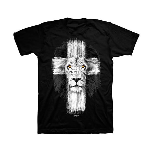 Lion-Cross-T-Shirt-Christian-Fashion-Gifts