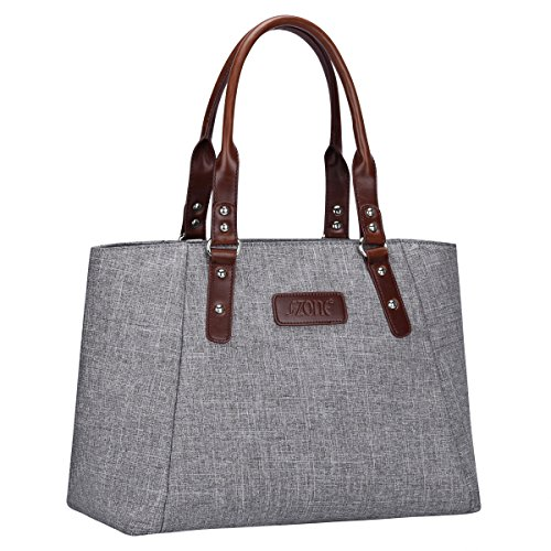 S-ZONE Women s Handbags Lightweight Large Tote Casual Work Bag Shoulder Bag.  On Sale 9f01f20bcfa00