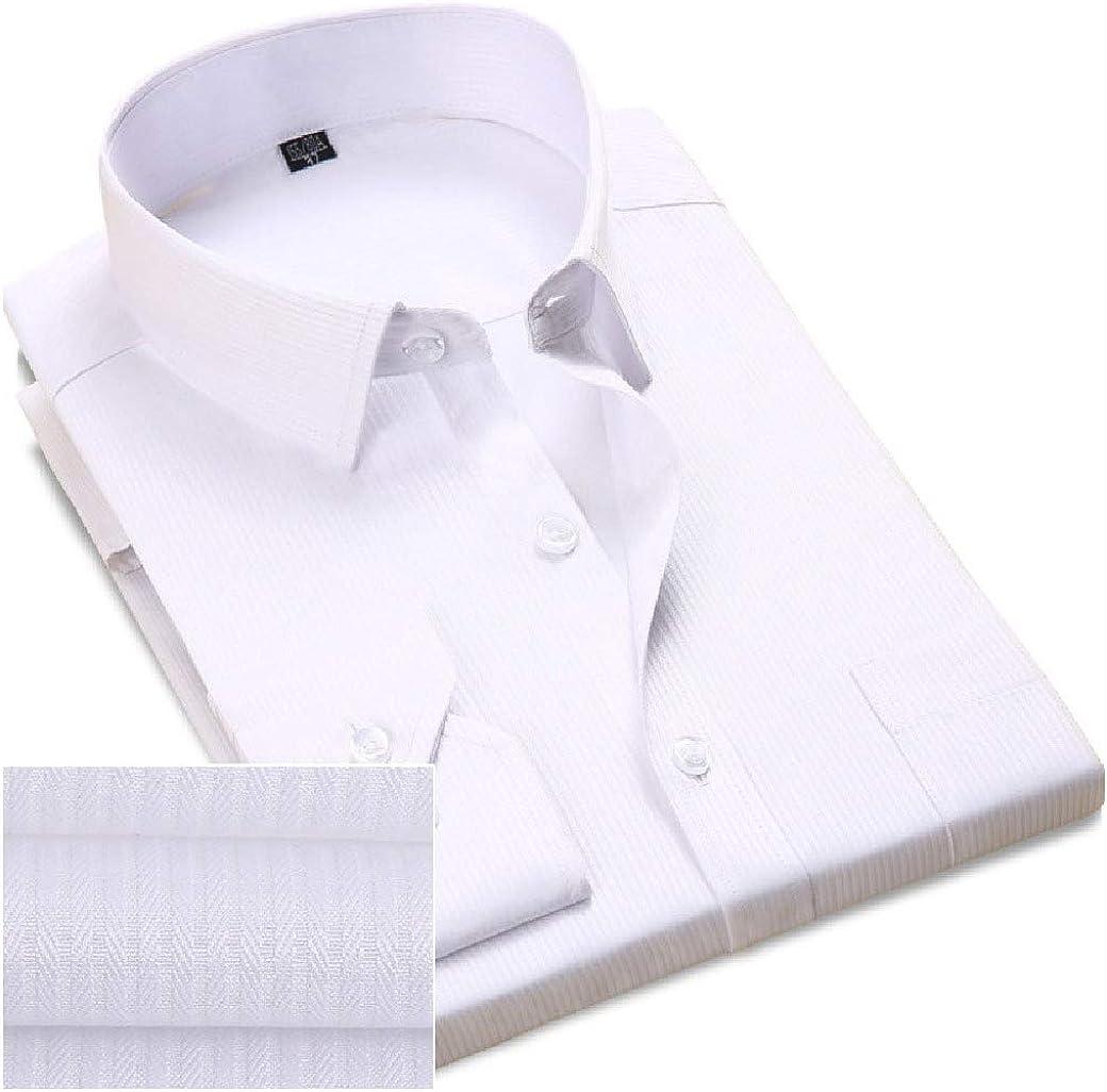 SportsX Men Trim-Fit Shirt Business Long-Sleeve No Iron Buttoned Dress Shirts
