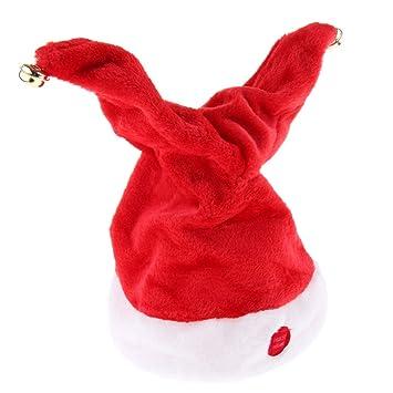 B Baosity Sombrero Eléctrico Gorro Musical de Navidad Bebés ...