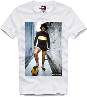 E1Syndicate T Shirt Vintag Diego Maradona ARGENTINIEN Hand GOTTES Trikot