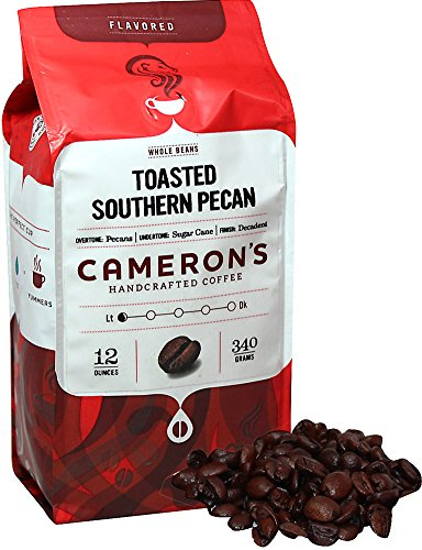 Cameron's Toasted Southern Pecan Whole Bean Coffee-12 oz (Pecan Toasted Pie)