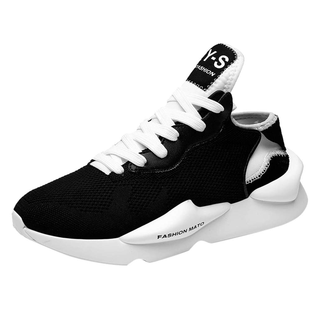 Chunky Sneakers for Men の 2019 Fall-Winter Casual Shoes Street-Style Cool Mens Trainers Non Slip Running Sneakers