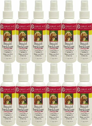 Miracle Care Kwik Stop Liquid Bandage Spray 48oz (12 x 4oz) by Miracle Care