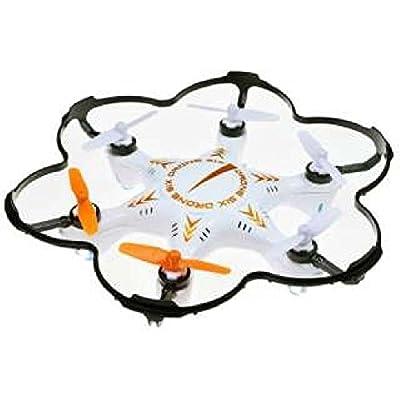 Child friend company -drone- 2.4GHz six pieces feather maruchikoputadoron 6 (white) MODE1 Japan used