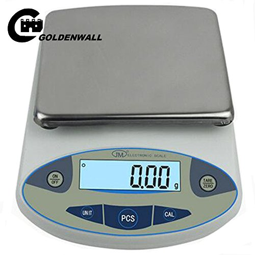 High precision lab digital analytical electronic balance analytical laboratory\ jewelry scales\precision gold scales Clark scales kitchen precision weighing electronic scales 0.01g (5000g, (Digital Lab Scale)