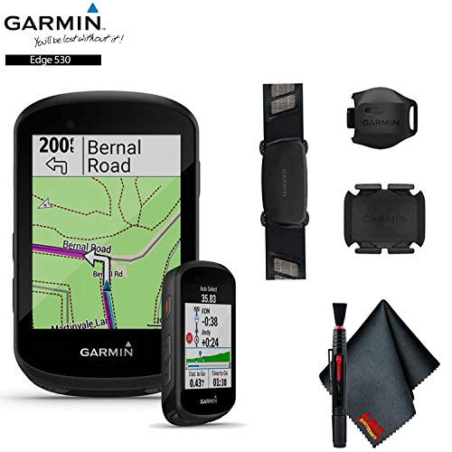 Garmin Edge 530 GPS Cycling Computer (Sensor Bundle) Base Accessory Kit