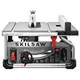 """SKILSAW SPT70WT-01 10"""" Portable Worm Drive Table Saw with 25"""" Rip Capacity"""