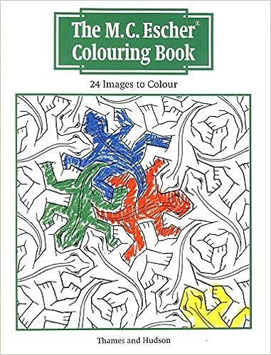 M.C.Escher Colouring Book