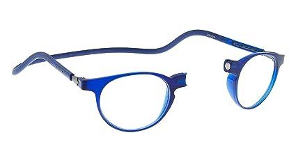 comprar mejor comprar más nuevo comprando ahora Nuevas Gafas Magnéticas De Lectura Slastik Estilo Clic Montura Soho 010 Con  Funda Blanda Graduación +2.0