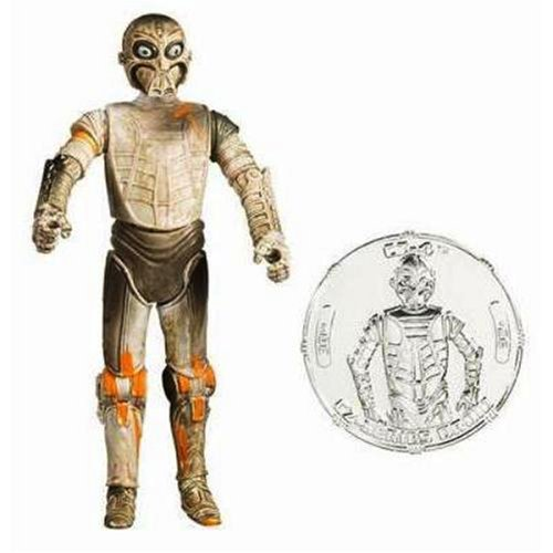 Star Wars 30th Anniversary CZ-4 Jabba's Palace Droid Action Figure with Plastic Coin ()