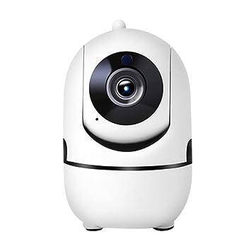 TOOGOO Cámara Inalámbrica WiFi De Seguridad, Cámara IP para Vigilancia De Seguridad De Casa Monitor De Bebé/Mascota con PTZ Detección De Audio Bidireccional ...