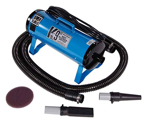 K-9 Dryers 17-127-U II Blower/Dryer, Blue - Velocity Double Dryer