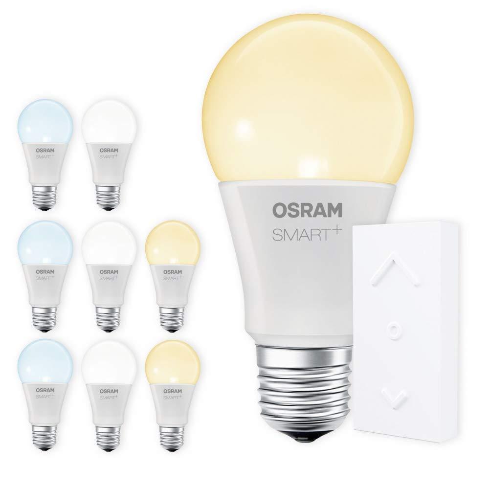 OSRAM SMART+ SWITCH KIT E27 Tunable Weiß dimmbar LED + Fernbedienung weiß Auswahl 9er Set