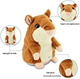 Qwifyu Talking Hamster, Interactive Stuffed Plush