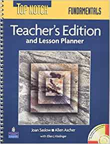 Top Notch Fundamentals Teacher's Edition and Lesson