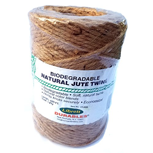 Natural Jute Twine – 5 Ply – 520 ft.