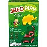 JELL-O Play Jungle Cutters Gelatin Dessert Kit (6 oz Box)