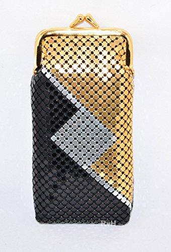 Luxuriant 120s Soft Mesh Cigarette Case w Lighter Pocket (1 Cigarette Metal Case Lighter)