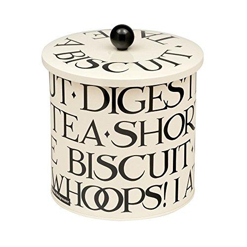 (Emma Bridgewater Biscuit Cookie Barrel Tin in Knives & Forks Design)