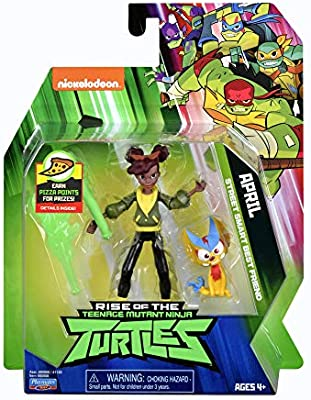Teenage Mutant Ninja Turtles Rise of The April Action Figure ...