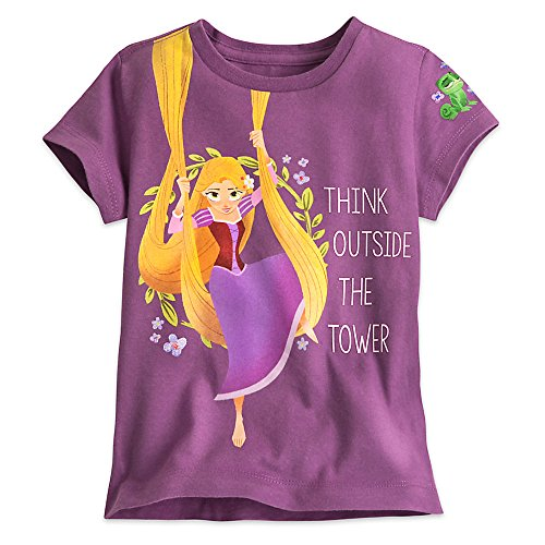 Disney Rapunzel Tee for Girls - Tangled: The Series Size S (5/6) Purple